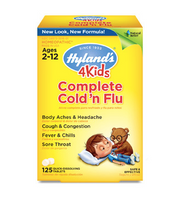 Load image into Gallery viewer, Hyland's 4Kids Complete Cold 'n Flu 125ct