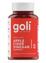 Load image into Gallery viewer, Goli Apple Cider Vinegar Gummies 60ct