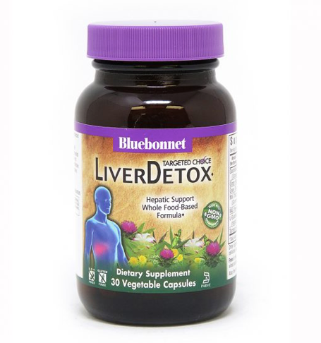 Bluebonnet Targeted Choice Liver Detox 30ct
