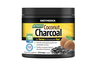 Enzymedica Coconut Charcoal Powder