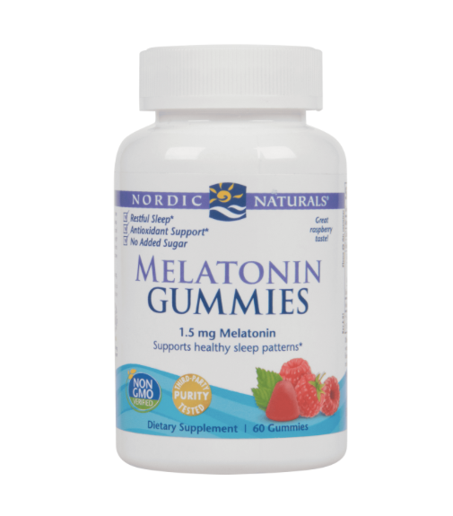 Nordic Naturals Melatonin Gummies 60ct