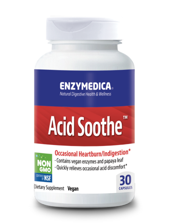 Enzymedica Acid Soothe 30ct