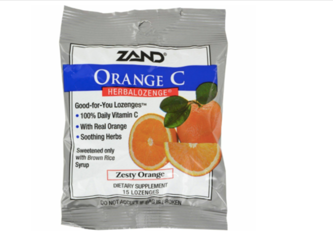 Zand Orange C Lozenges
