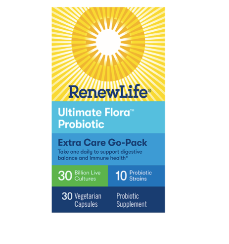 Renew Life Ultimate Flora Extra Care Go Pack 30 Billion