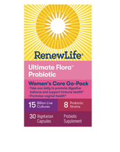 Load image into Gallery viewer, Renew Life Ultimate Flora Women's Go Pack 15 Billion