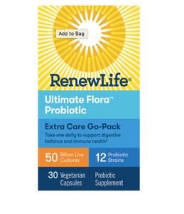 Renew Life Ultimate Flora Extra Care Probiotic Go Pack 50 Billion
