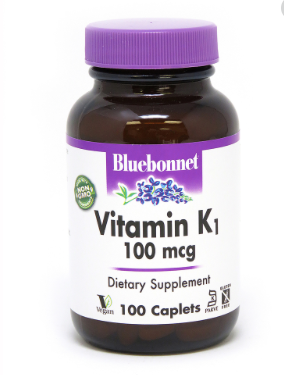 Bluebonnet Vitamin K1 100mg