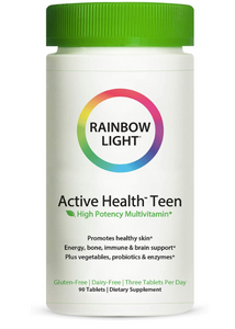 Rainbow Light Active Teen 90ct