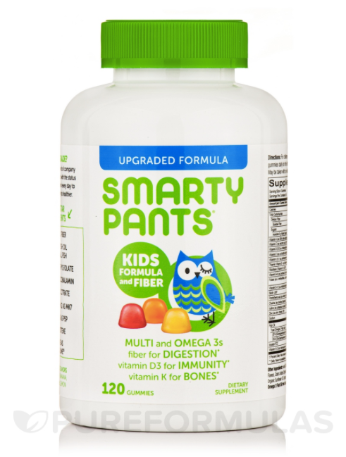 Smarty Pants Kid's Complete and Fiber 120ct