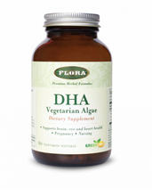 Load image into Gallery viewer, Flora DHA Vegetarian 60ct