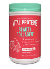 Load image into Gallery viewer, Vital Proteins Beauty Collagen Watermelon Mint 9oz