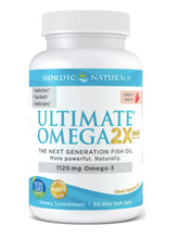 Load image into Gallery viewer, Nordic Naturals Ultimate Omega 2x Mini 60ct