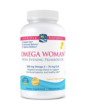 Load image into Gallery viewer, Nordic Naturals Omega Woman 120ct