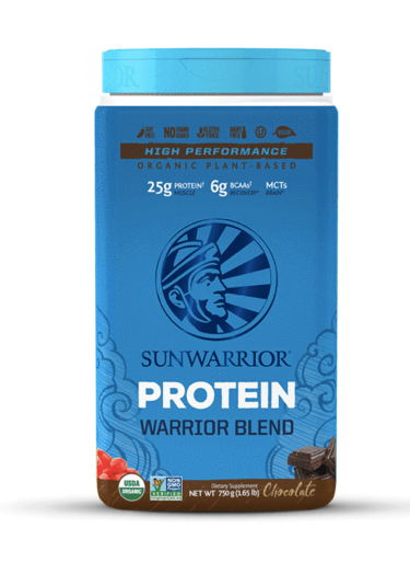 Sunwarrior Warrior Blend Chocolate Protein