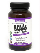 Load image into Gallery viewer, Bluebonnet BCAA 120ct