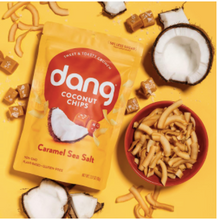 Load image into Gallery viewer, Dang Caramel Coconut Sea Salt Chips 90g
