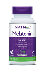 Load image into Gallery viewer, Natrol Time Released Melatonin 5mg 100ct