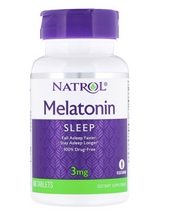 Load image into Gallery viewer, Natrol Melatonin 3mg 60ct
