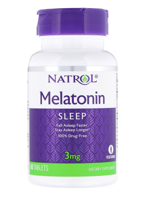 Natrol Melatonin 3mg 60ct