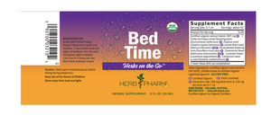 Herb Pharm Bedtime 1 oz