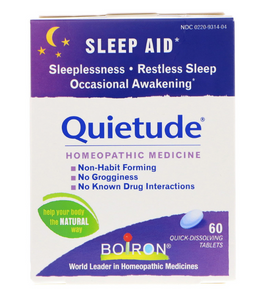 Boiron Quietude 60ct
