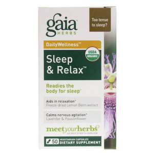 Gaia Sleep and Relax 50ct