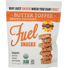 Load image into Gallery viewer, Fuel Snacks Butter Toffee 4oz