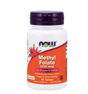 Now Foods Methyl Folate 1000mcg 90ct