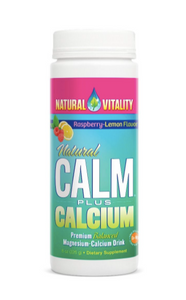 Natural Calm Plus Calcium Raspberry Lemon