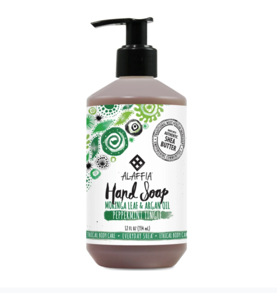 Alaffia Hand Soap Peppermint Tingle