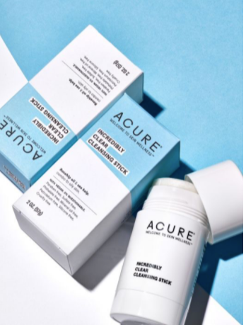 Acure Incredibly Clear Cleansing Stick