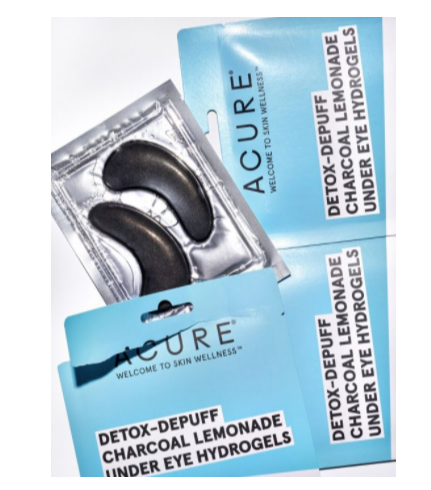 Acure Detox Depuff Under Eye Hydrogels