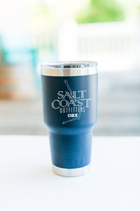 Salt Coast OBX YETI RAMBLER 30 oz NAVY