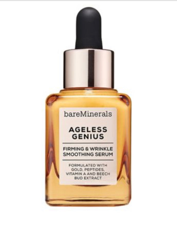 bareMinerals AGELESS GENIUS™ FIRMING & WRINKLE SMOOTHING SERUM