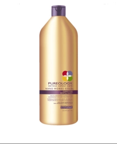 Pureology Nano Works Gold Conditioner Liter