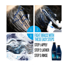 Load image into Gallery viewer, Redken Color Extend Brownlights Blue Toning Sulfate-Free Shampoo Liter