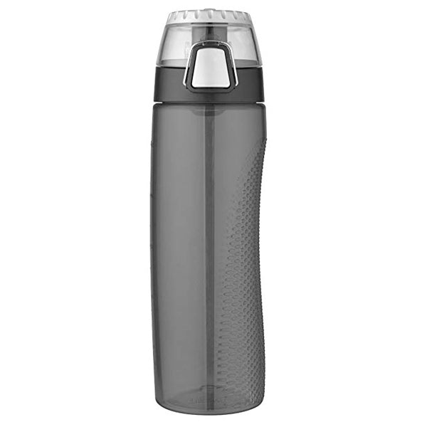 THERMOS  710ml Single Wall BPA Free Eastman Tritan? Copolyester Hydration Bottle ? Smoke