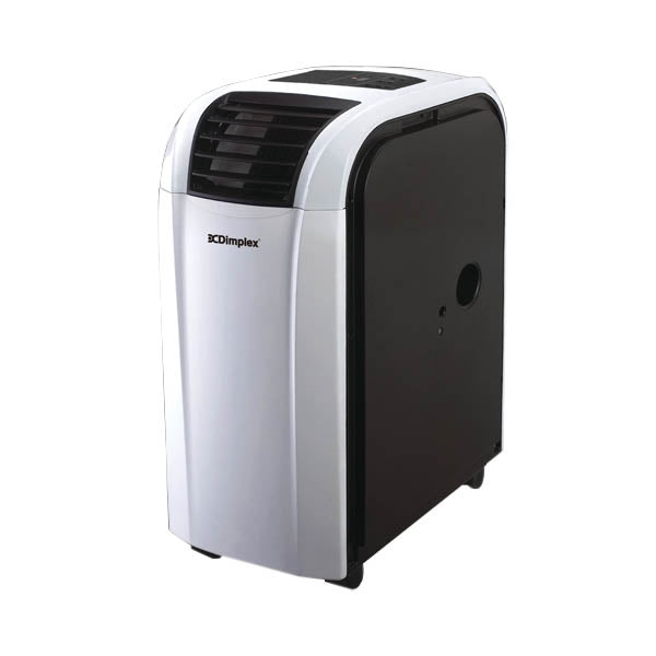 Dimplex DC12RCBW 3.5kW Reverse Cycle Portable Air Conditioner w/Dehumidifier - White/Black finish