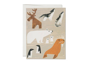 Red Cap Cards - Winter Animals