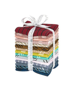 Balboa fabric fat quarters - designed by Erin Dollar of Cotton & Flax