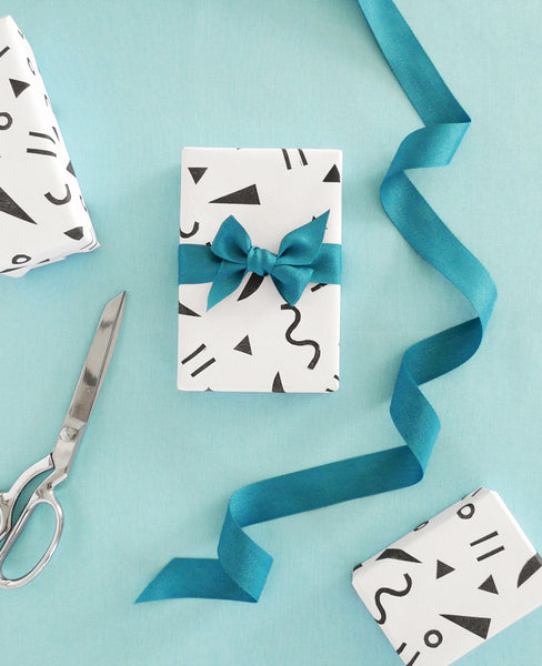Handprinted gift wrap - make your own in a creative workshop in San Diego