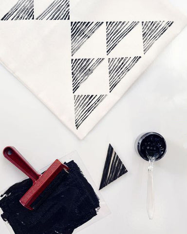 Los Angeles: Block Printing 101 - Patterned Tote Bag Workshop