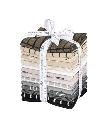 Balboa fabric - fat quarter bundle - Neutrals