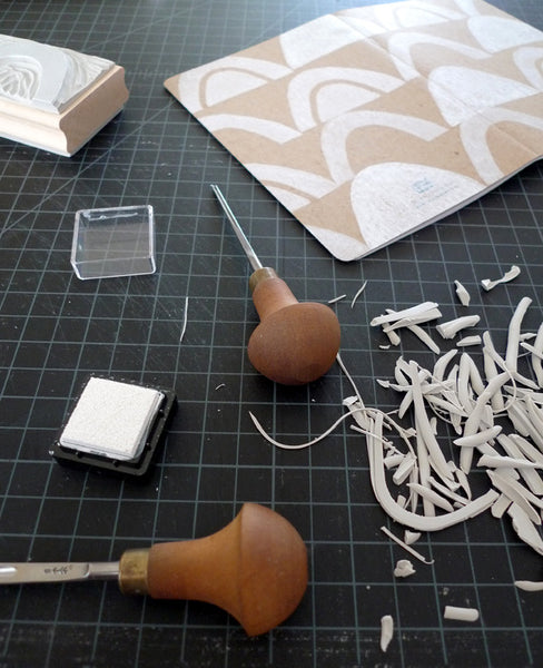 Block printing workshop - learn to print your own designs with Erin Dollar