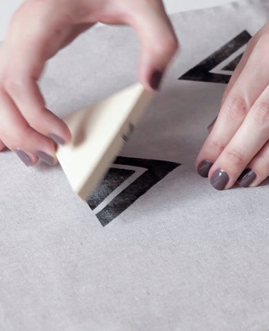 Block printing workshop with Erin Dollar