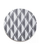 Charcoal Diamond Trivet - Cotton & Flax