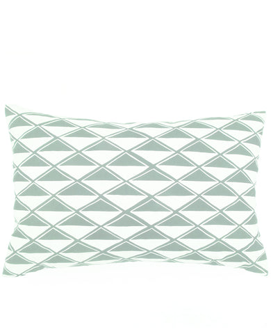 Patterned oblong throw pillow from Cotton & Flax