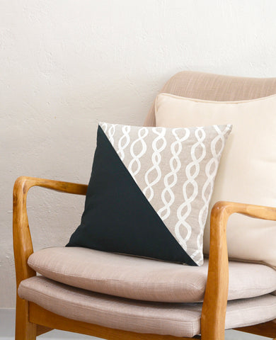 DNA Throw Pillow from Cotton & Flax