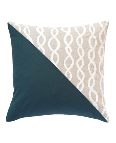 DNA Quilted Throw Pillow from Cotton & Flax