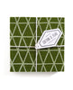 Forest green coaster set